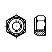 DIN 2510 Гайки шестостенни за болт-шпилка