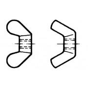 DIN 314 / 315 Гайки крилчати