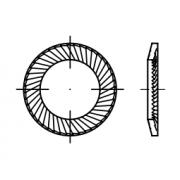 Арт.№ 88120 - 88121 Шайби осигурителни SCHNORR, тип S и VS