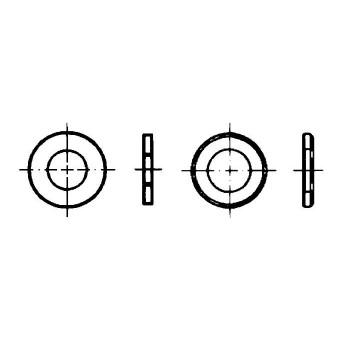 DIN 125 Шайби кръгли плоски