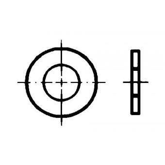 DIN 126 Шайби кръгли плоски
