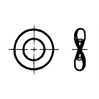 DIN 137 Шайби пружинни цели