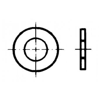 DIN 1440 Шайби кръгли плоски за щифтове с глава и отвор за шплинт