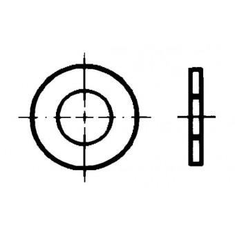 DIN 1441 Шайби кръгли плоски за щифтове