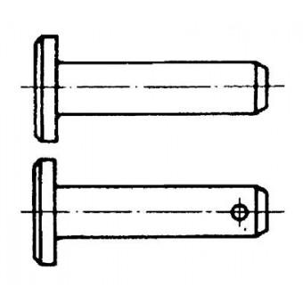 DIN 1444 Щифтове с глава.