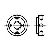 DIN 1816 Гайки кръгли с радиално разположени отвори за ключ