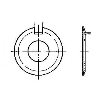 DIN 432 Шайби осигурителни с външен стопор