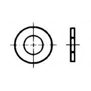 DIN 433 Шайби кръгли плоски за винтове с цилиндрична глава.