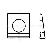 DIN 435 Квадратни шайби за двойни Т-носачи (14%)