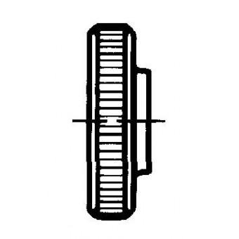 DIN 467 Гайки ниски с накатка