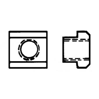 DIN 508 Гайки за Т-канали