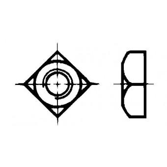DIN 557 Гайки квадратни