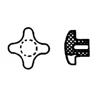 DIN 6335 Ръкохватки кръстовидни