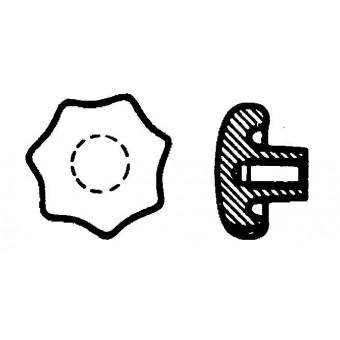 DIN 6336 Ръкохватки звездовидни