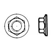 DIN 6923 Гайки шестостенни с конусен фланец