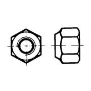 DIN 6924 Гайки шестостенни самозаконтрящи се с неметална вложка