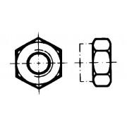 DIN 6925 Гайки шестостенни самозаконтрящи се изцяло метални