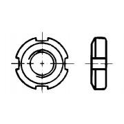 DIN 70852 Гайки кръгли с периферни прорези
