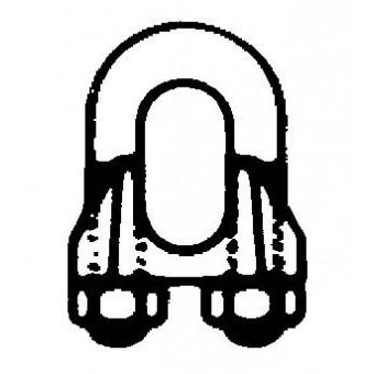 DIN 741 Скоба за телено въже