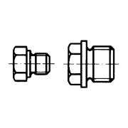 DIN 7604 Винт-тапа шестостенен, цилиндрична резба