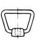 DIN 80704 Гайки с халка