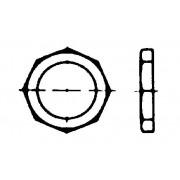 DIN 80705 Ниски гайки с намален размер на ключа