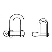 DIN 82101 Съединителни скоби за вериги
