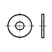DIN 9021 Шайби кръгли плоски, 3 d