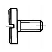 DIN 921 Винтове с цилиндрична широка глава и прав шлиц