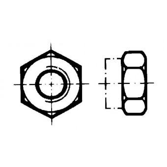 DIN 980 Гайки шестостенни самозаконтрящи се изцяло метални